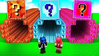 Minecraft ITA - NON SCEGLIERE IL TUNNEL SFORTUNATO!!