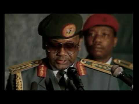 Gen Sani Abacha acceptance speech during his coup