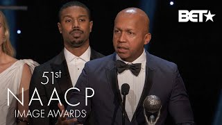 """Just Mercy"" Receives The Award For Outstanding Motion Picture! 