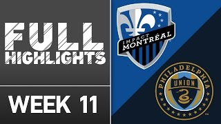 HIGHLIGHTS: Montreal Impact vs. Philadelphia Union | May 14, 2016 by Major League Soccer
