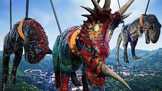 Dinosaur Battle Styracosaurus
