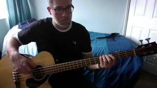 She Moves In Her Own Way    The Kooks Bass Cover