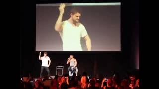 What Charles М. Davis does on a day, performed by Nate Buzolic
