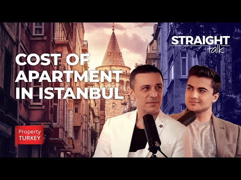 How much does an apartment cost in Istanbul?