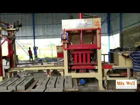Fully Automatic Paving Block Making Machine