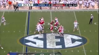 10/27/2012 Florida vs Georgia Football Highlights