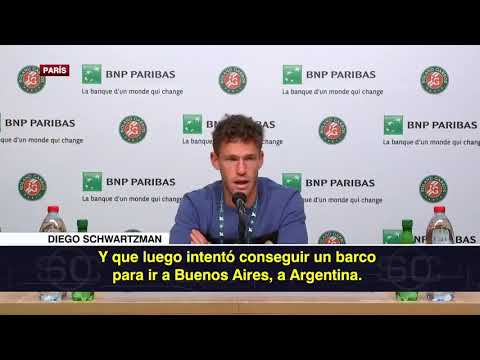 Roland Garros – Diego Schwartzman nyilatkozata