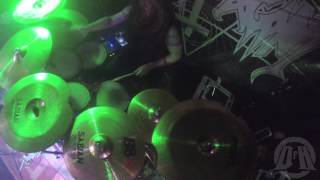 CHRIST AGONY@Devilish Sad-Live in Chorzów-Poland 2015 (Drum Cam)