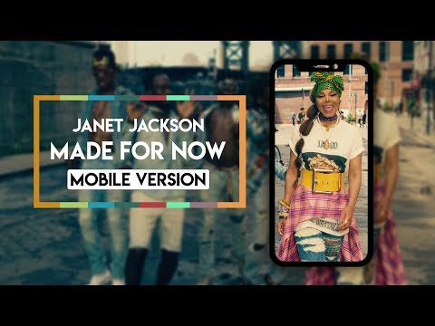 Janet Jackson X Daddy Yankee - Made For Now [Vertical Video] Mp3