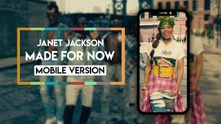 Janet Jackson X Daddy Yankee   Made For Now [Vertical Video]