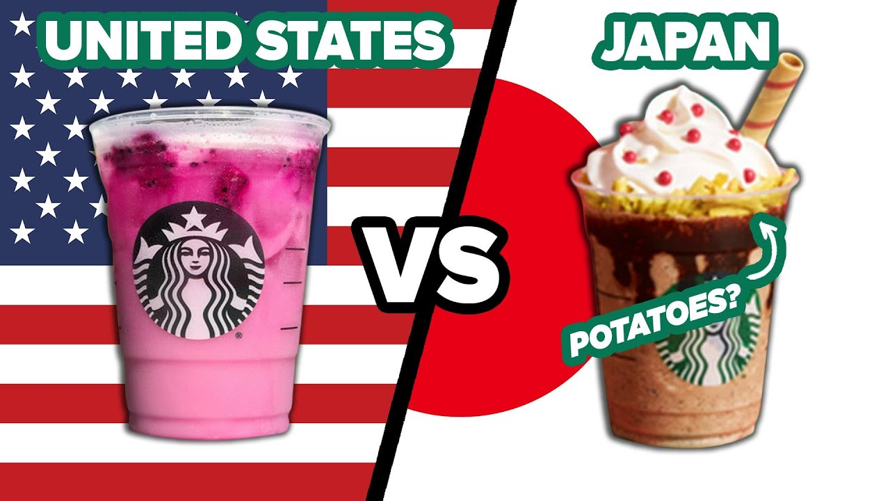 American Vs. Japanese Starbucks thumbnail
