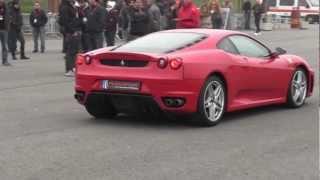 preview picture of video 'Ferrari F430 sul circuito di Vairano (PV)'