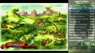 Legend Of Mana Dragon Storyline Speedrun (1:35:24)