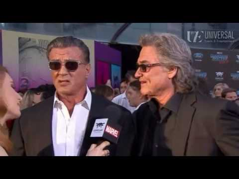 Kurt russell sylvester stallone interview   guardians of the galaxy vol  2 red carpet premiere