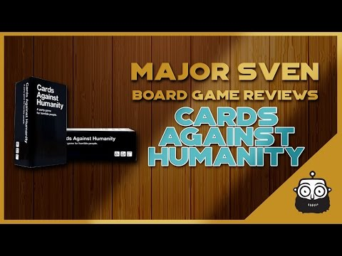 Major Sven Reviews Card Against Humanity