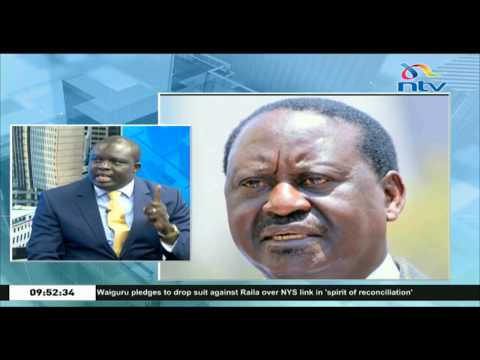 What the political truce between Raila and Waiguru really means