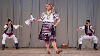 Молдавский шуточный танец «Табакэряска». Балет Игоря Моисеева.