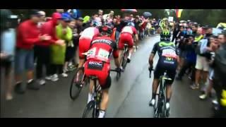preview picture of video 'Vuelta España 2014; Etapa 9 Guadazaón - Aramón Valdelinares 185 Km 31-ago; Winner Anacona'