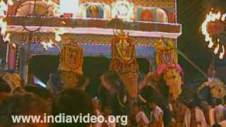 The twelve-day festival of Vaikathashtami
