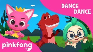 Tyrannosaurus-Rex | Dance Dance | Dinosaur Song | Pinkfong Songs for Children