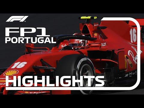 F1 第12戦ポルトガルGP(ポルトガル)フリープラクティス1のハイライト動画