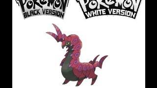 Whirlipede  - (Pokémon) - Pokemon Black/White - Whirlipede evolves into Scolipede