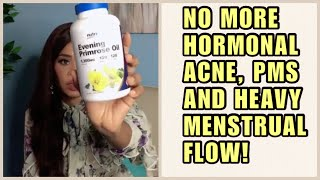 SAY GOODBYE TO INFERTILITY, PMS, ACNE ETC | EVENING PRIMROSE OIL