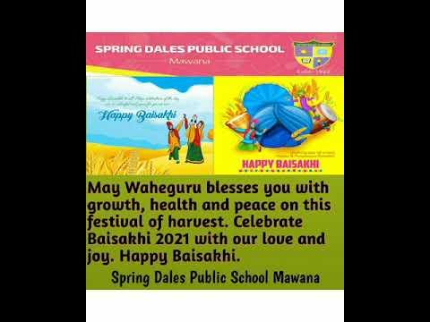 Baisakhi Celebration by the students of SDPS
