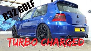 🐒 VW GOLF R32 TURBO CHARGED 550BHP