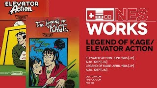 Elevator Action & Legend of Kage retrospective: Ups and downs | NES Works #046