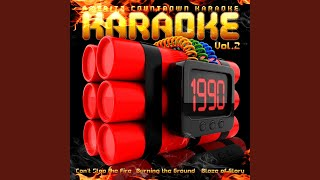 Burning the Ground (In the Style of Duran Duran) (Karaoke Version)