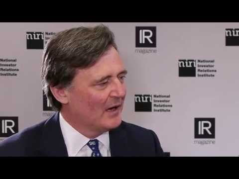 Bloomberg editor-in-chief John Micklethwait at NIRI 2016