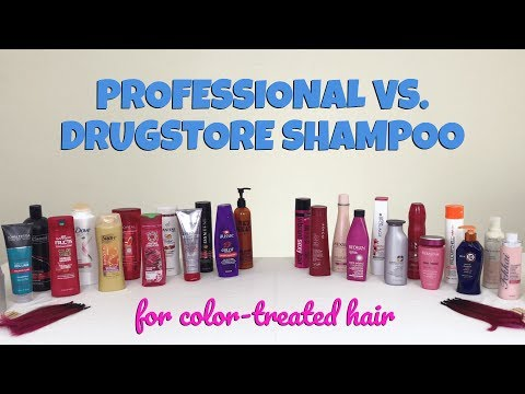 Professional vs. Drugstore: The Best Shampoo for Color-Treated Hair (22 Brands Tested)