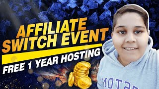 😍  Start Your Real Affiliate Marketing Business With Affiliate Switch Event (FREE HOSTING INSIDE)