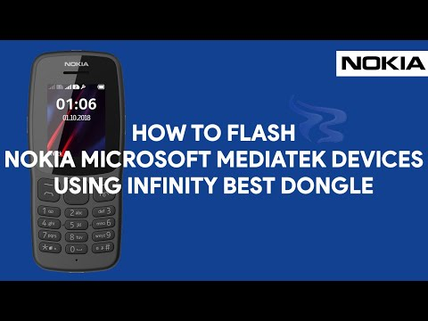 How To Flash Nokia Microsoft MediaTek Devices Using Infinity Best Dongle -  [romshillzz]