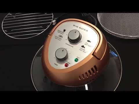 Big Boss 16 Quart 1300 Watt Oil-Less Air Fryer