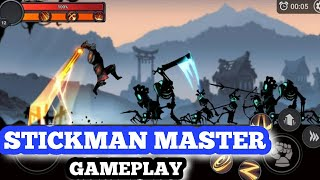 Stickman Master: League Of Shadow- Ninja Legends- Android Gameplay HD