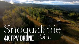 SNOQUALMIE POINT HD FPV Drone Footage Fall 2020 | First-Person View Drone Footage | WA State