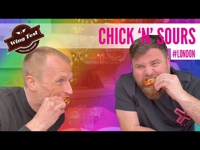 Wing Fest x Food Review Club - Wing Tour - Chick 'n' Sours