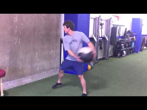 Medicine Ball Side Throw