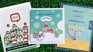Intro To Reveal Wheel Holiday Sentiments + 3 Cards From Start To Finish