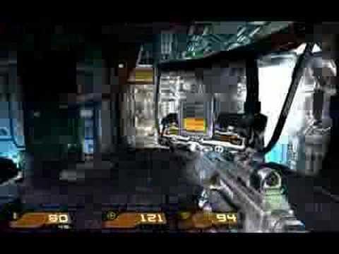 Quake 4 Walkthrough - Level 26 Data Processing Security part