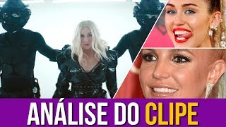 "Miley e Britney Analisam ""Fall In Line"""