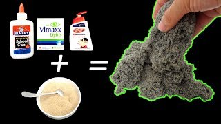 DIY Kinetic Sand without Sand Beach At Home I REAL!!!!! NO CUT CLIP | Kholo.pk