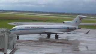 preview picture of video 'Aeropuerto Viru Viru - Santa Cruz Bolivia - Spotting con Lluvia (VVI-SLVR)'
