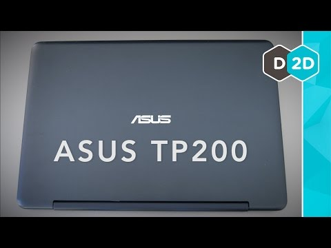 ASUS TP200 Review – A Budget 2-in-1 Laptop (2015)