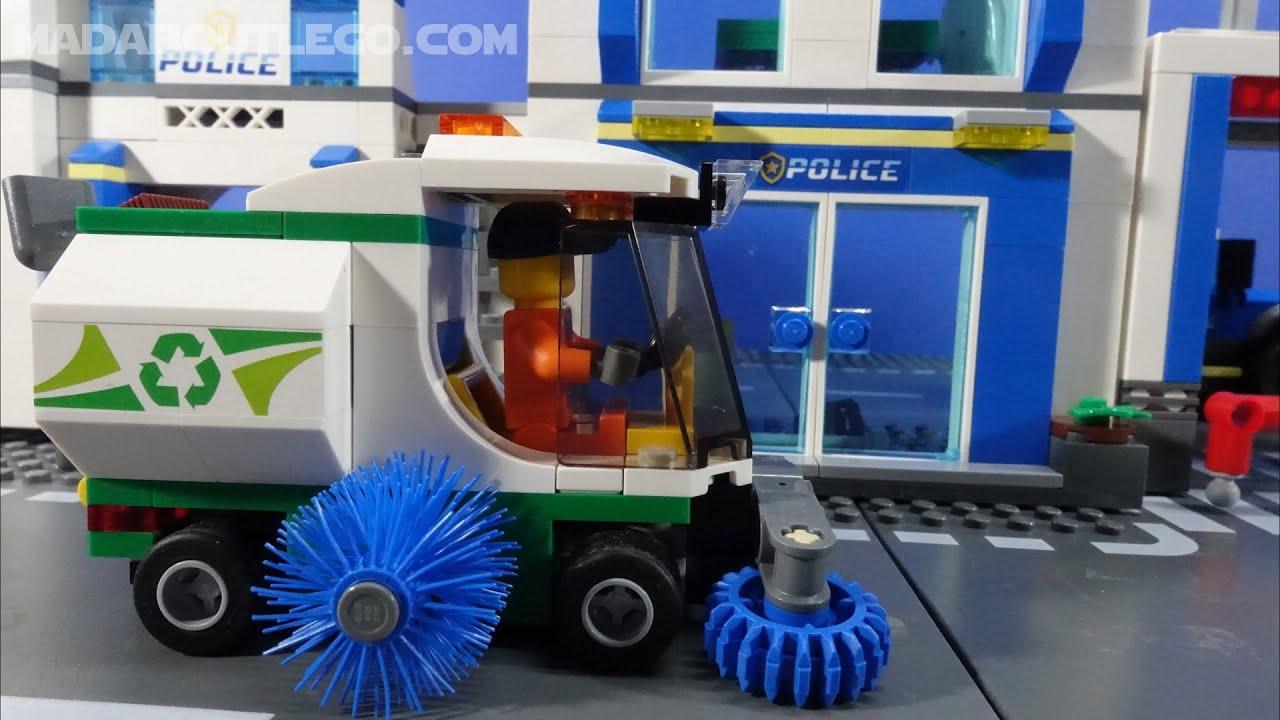 Lego City Street Sweeper 60249.