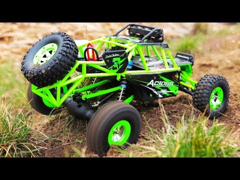 Unboxing NEW AMAZING RC 4WD Test Ride For KIDS! Across WLtoys 1/12 Scale Off Road Vehicle