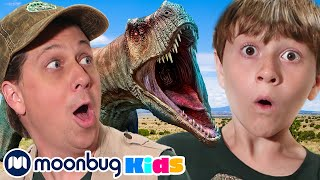 Hunt for Mommy T-Rex   Jurassic Tv   Dinosaurs and Toys   T Rex Family Fun