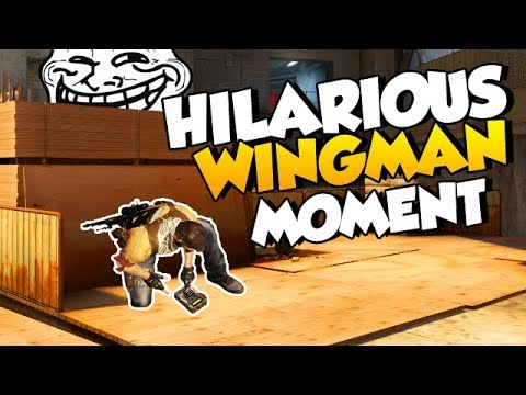 My most hilarious Wingman moment ever